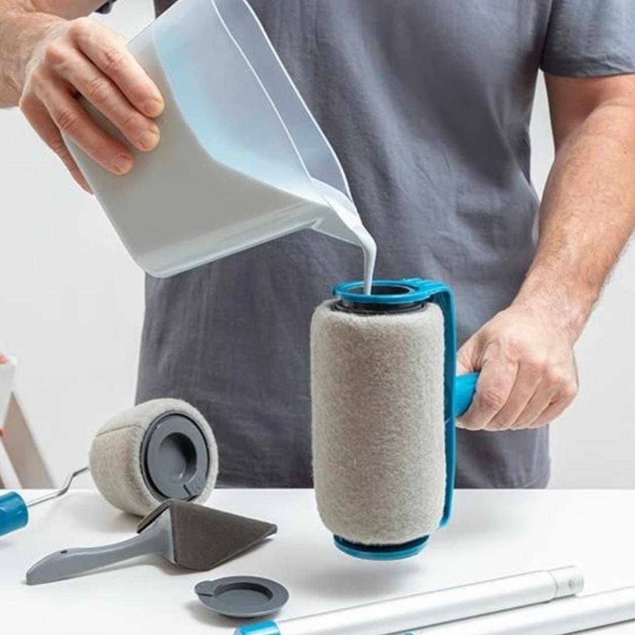 Paint Roller Professzionális Festőhenger Készlet Adagoló Tartállyal.'